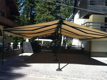 copertine retractabile fara caseta hotel Smart Sinaia 3
