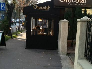 PVC transparent restaurant Chocolat 1